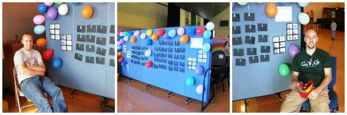Tackable accordion room dividers uses for a fun fair