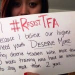 Not all agree with TFA sign