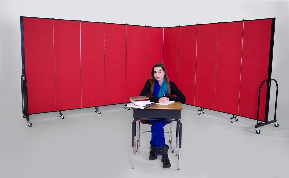 Improved Learning Environments created with Screenflex Dividers