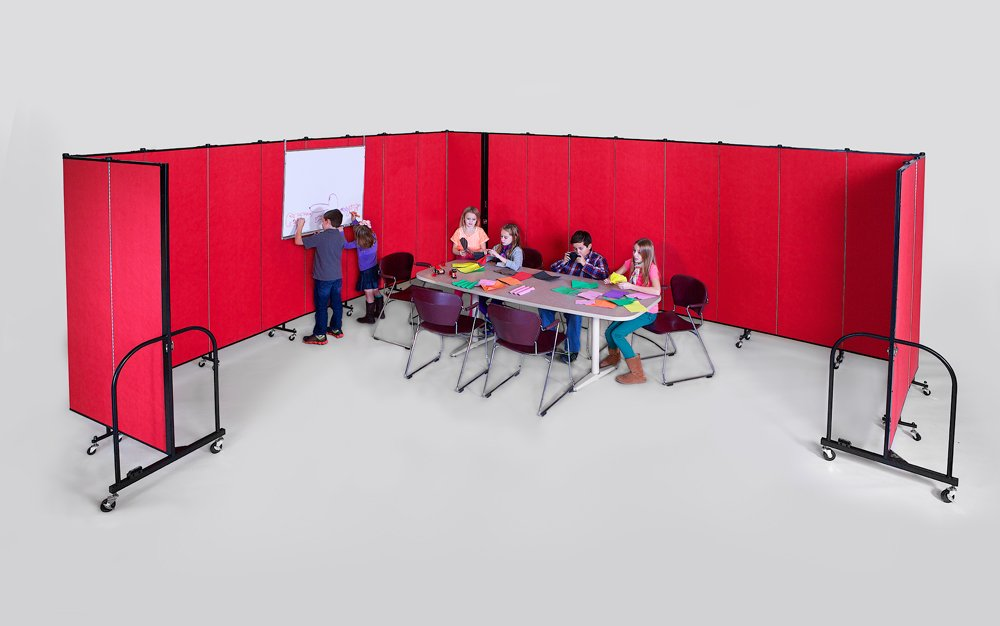 Enhance your portable classroom with a hanging markerboard