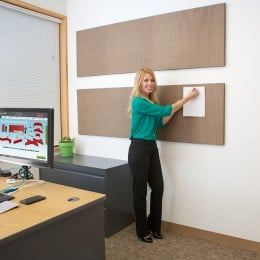 Acoustical Wall Panels are Tackable
