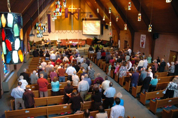 Aging church population