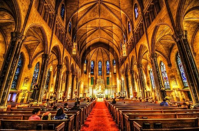 Inside Saint Patrick's Church
