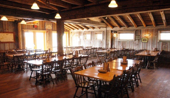 Large party room at Nicks Pizza & Pub Crystal Lake, Illinois