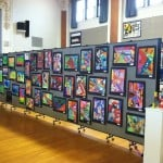 Creative Ways To Display Student Artwork  using Screenflex Portable Partitions & Art Displays