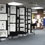 art Display at Morris Catholic High School