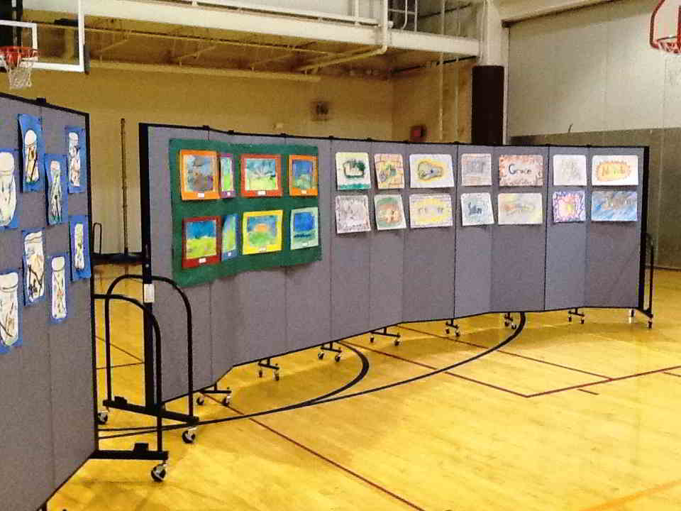 Create The Perfect Student Artwork Display Screenflex