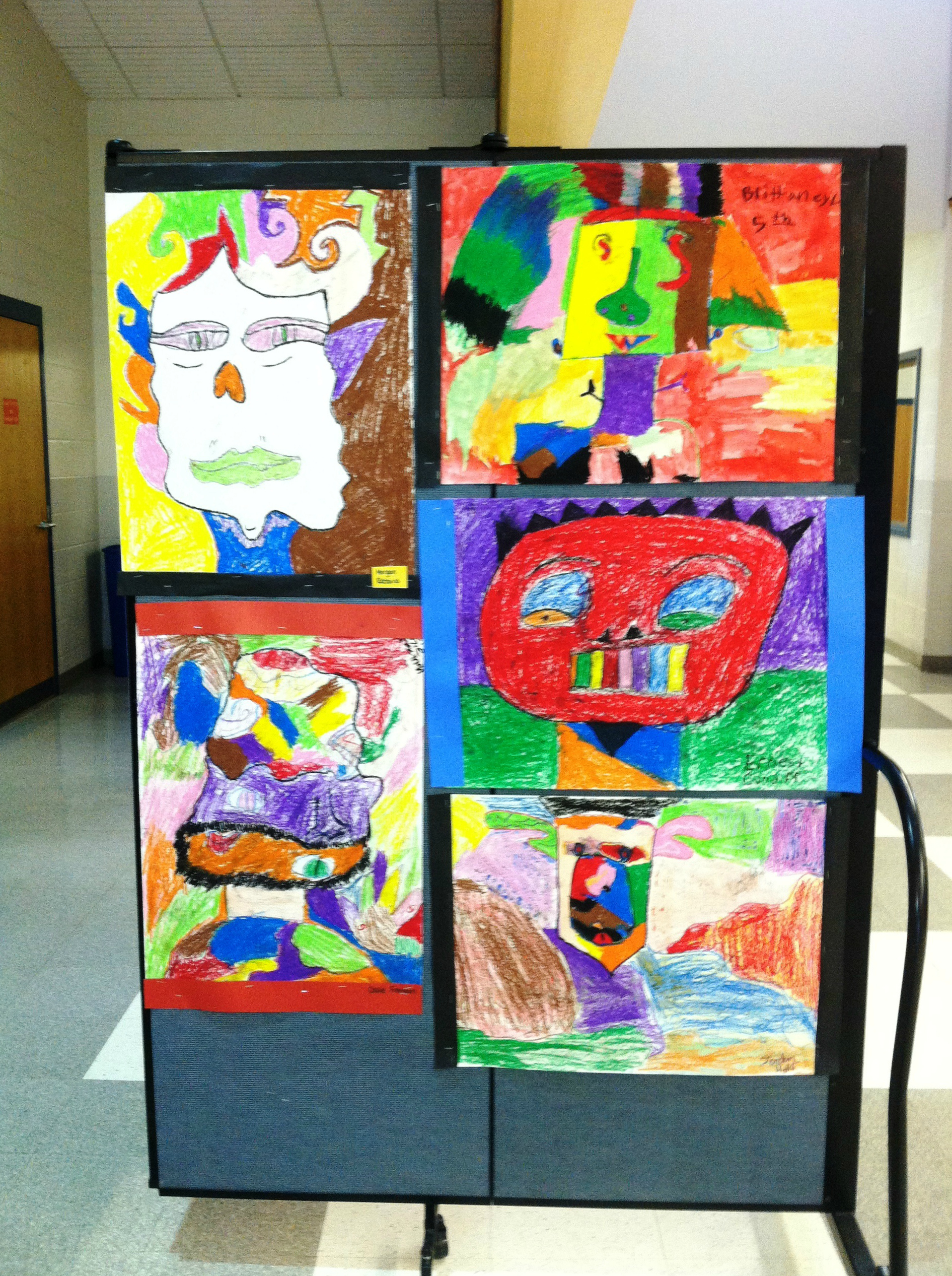 Student art showcase