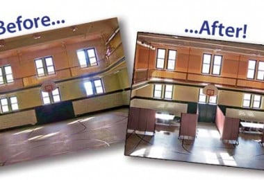 Before and After Room Divider Pictures Sunday School Enrollment