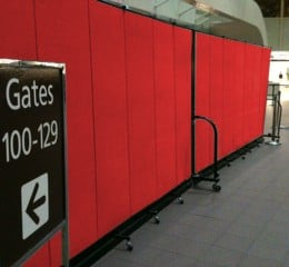 Red Airport Dividers