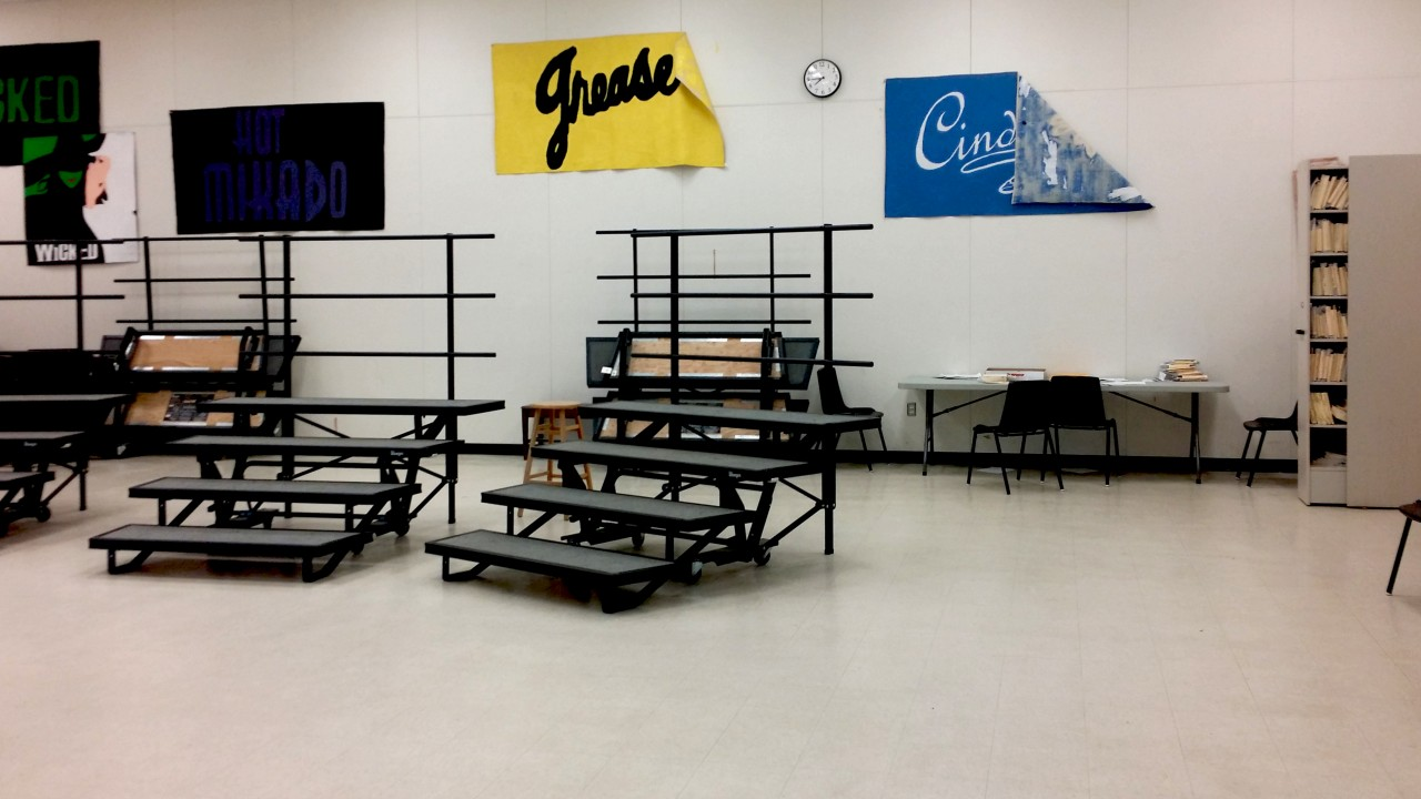 high school choir classroom