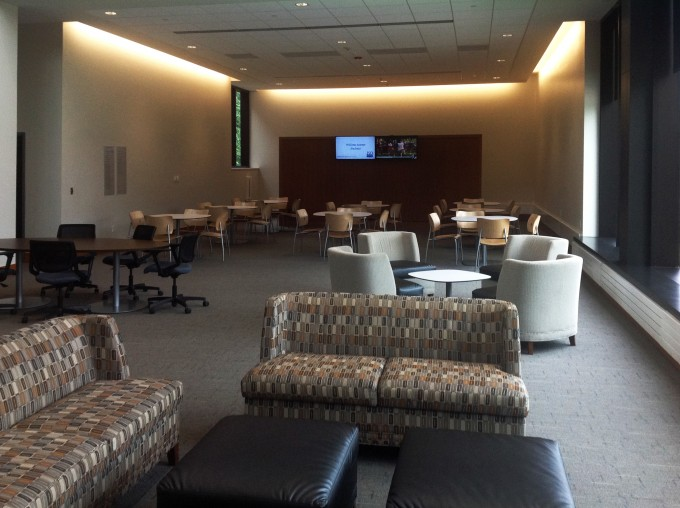 university commons area at Drake University