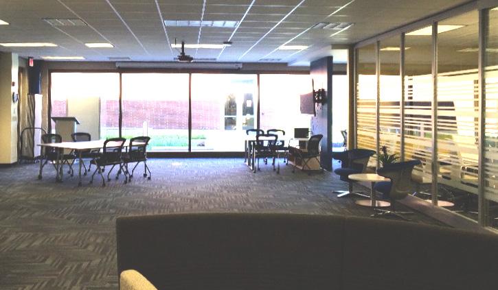 A university lounge