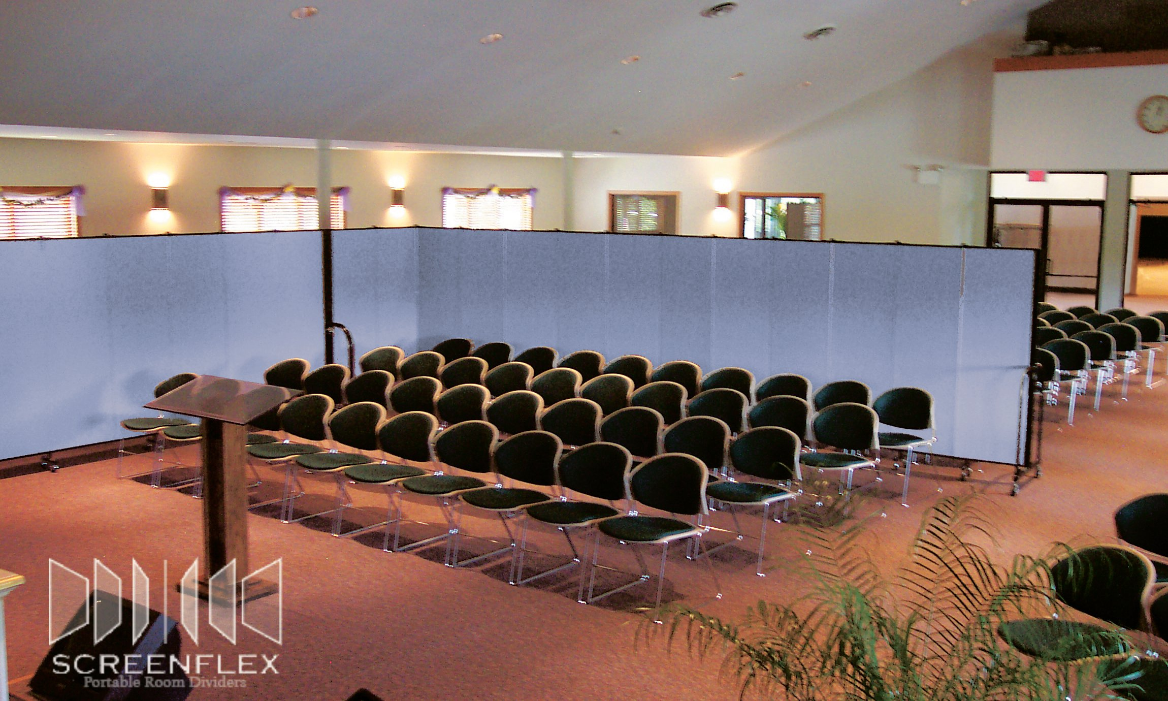Church Sanctuary Dividers provide a more intimate space