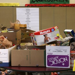Sumner High School Food Pantry Collection