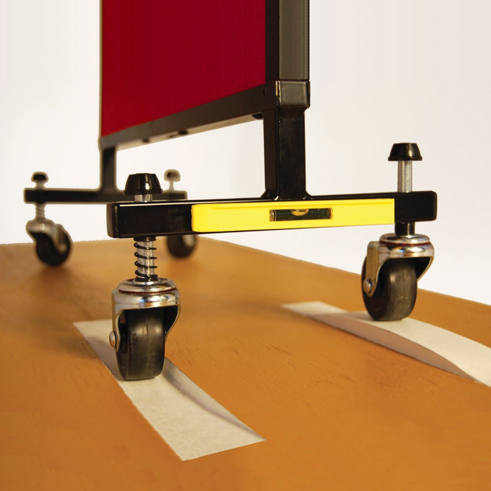 Self-Leveling Casters