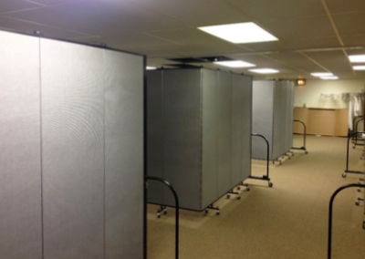 Expand your ministry space with portable partitions