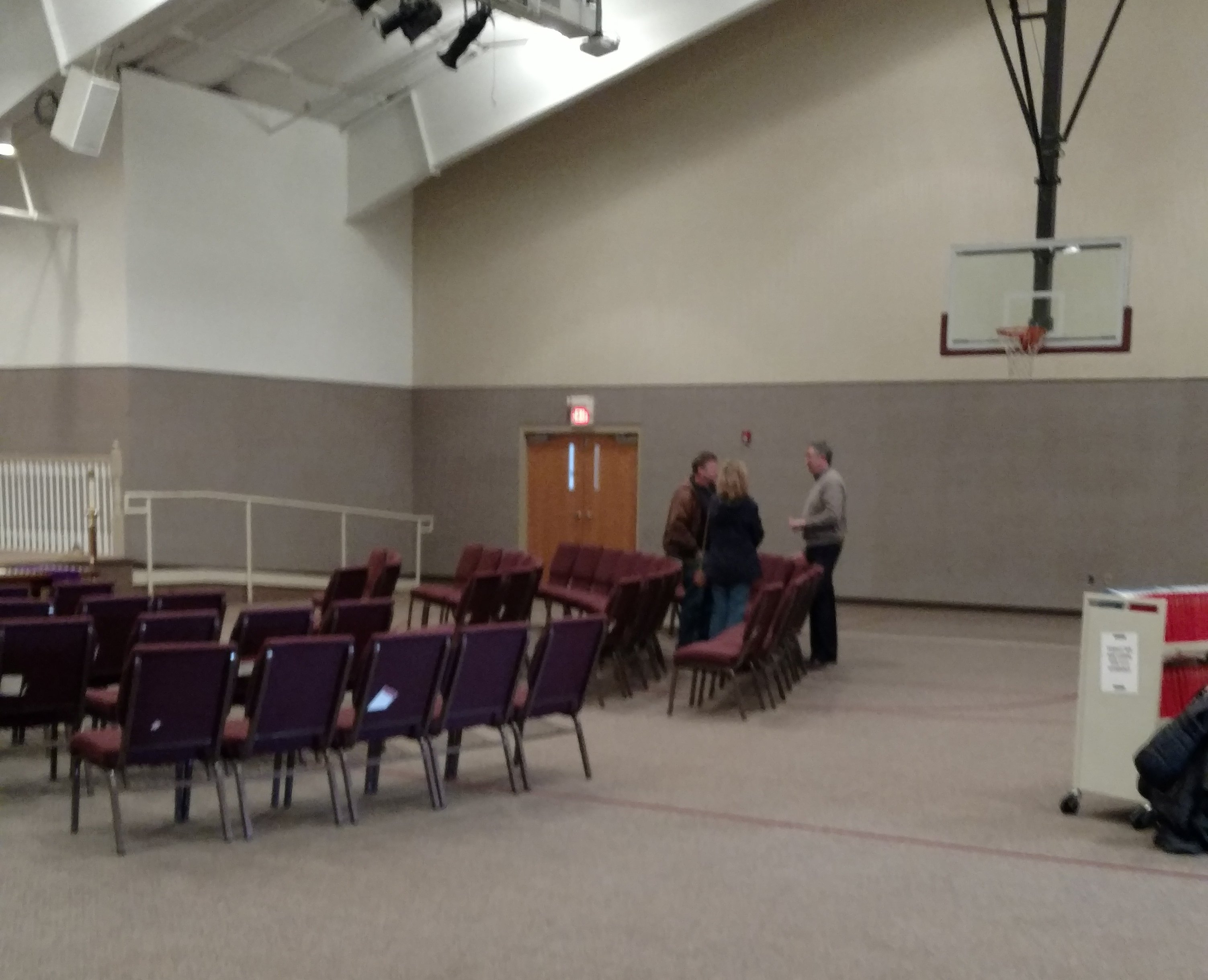 Church multipurpose room layout