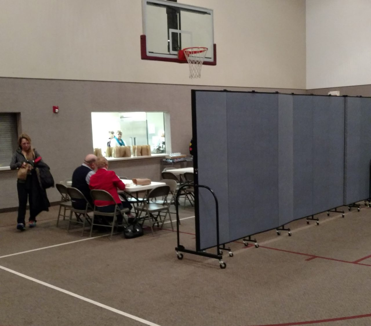 Expand Church Gym Space With Room Dividers Screenflex