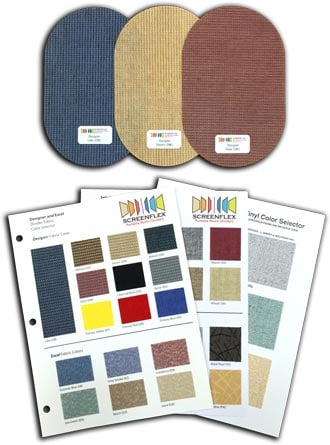 Fabric Swatches and Fabric Cards