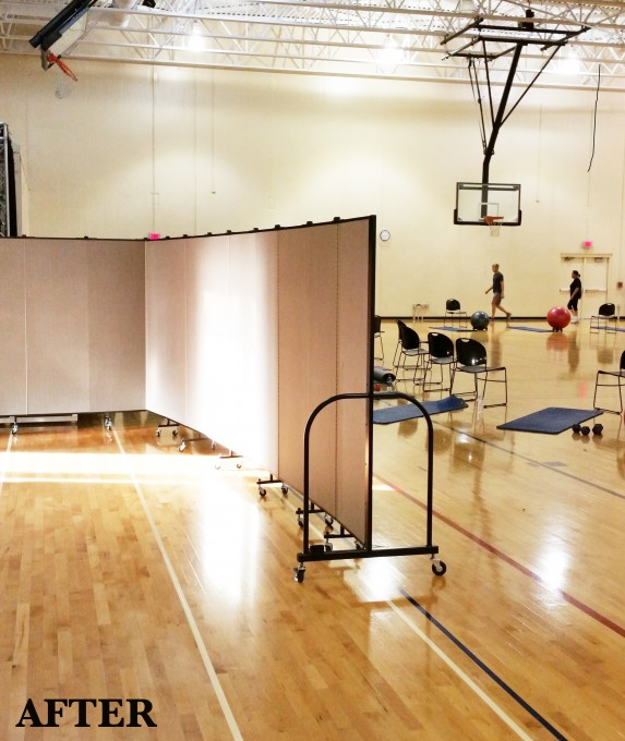 Movable Gym Entrance System