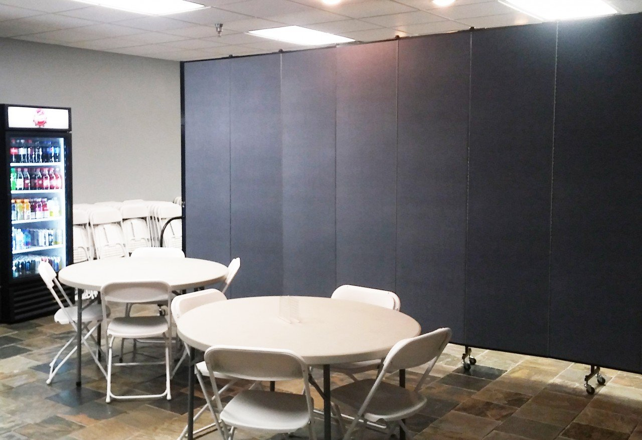 Dollamur Conference/Break Room partitioned off