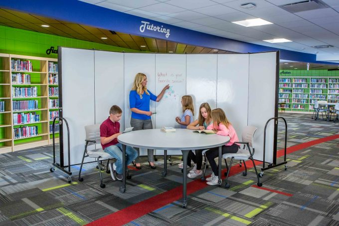 Writable school room dividers