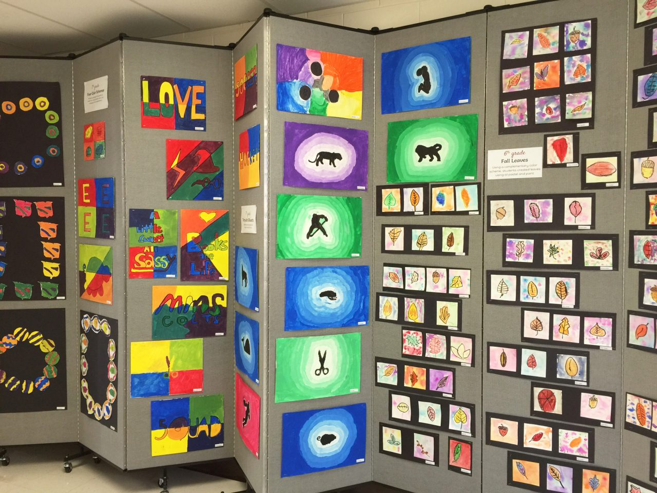 art show display panels