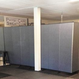 therapy room within a workout hall