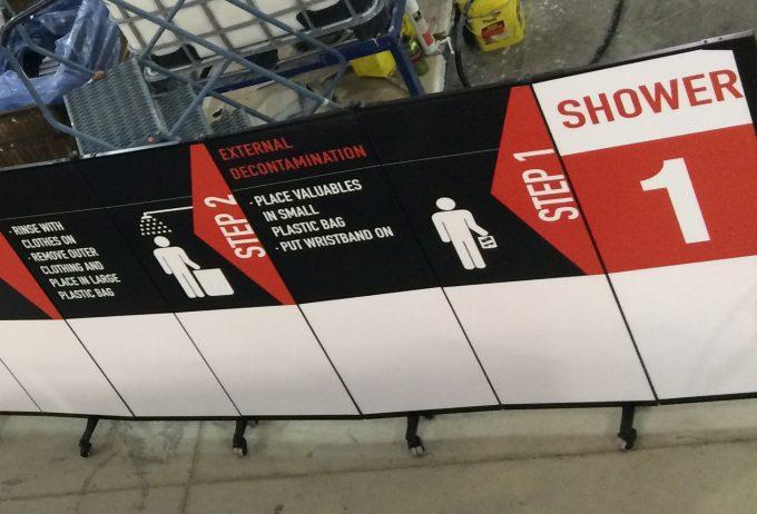 Safety Procedures Display Panels