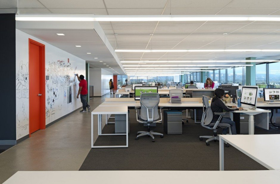 Flex Your Office Design A Blend Of Simplicity Privacy