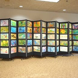 Images Of Easy To Use Portable Art Display Panels