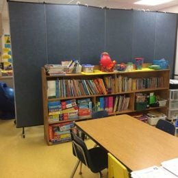 Tiller School uses Temporary Classroom Dividers to Best Serve Students