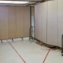 movable church partitions solve your spatial needs - Portable Room Dividers