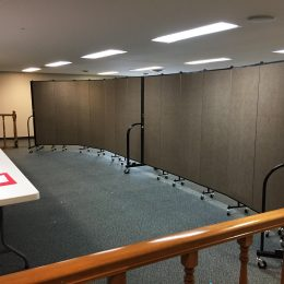 Photos of Portable Room Dividers in Religious Facilities