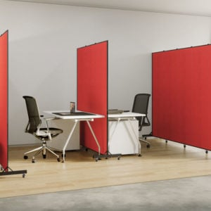 Light Duty dividers are easy to move in any environment