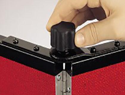 How Panelocks Fix Panels into Position