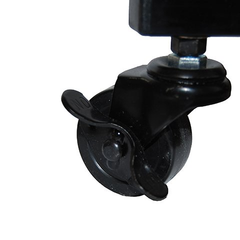 Locking Corner Casters are Easy to Lock into Place