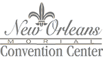 New Orleans Morial Convention Center logo demonstrates them as a Screenflex Room Divider consumer