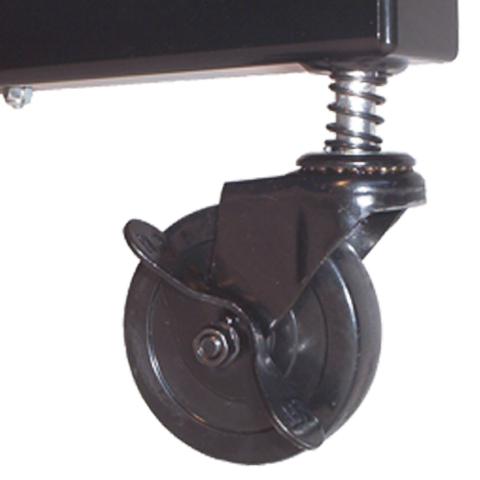 A Simple Turn of a Locking Wheel Secures Dividers into Position