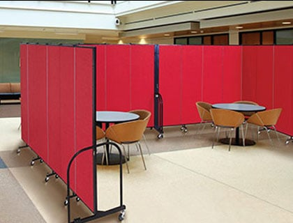 Folding Partition Walls Increase Facility Performance