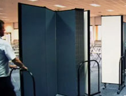 Standard Room Dividers Transform a Room Into Usable Space