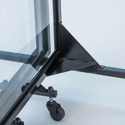 Aluminum frame for strength