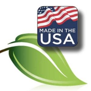 Made in the USA and environmentally friendly