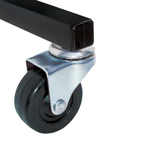 Manual adjustable caster