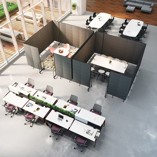 Collaborative work areas