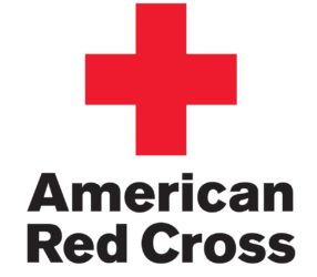 american red cross decal
