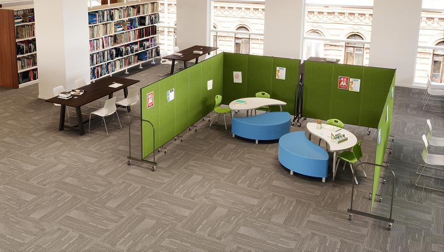 Privacy Area in the Library