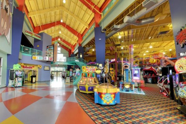 Giant play center with games
