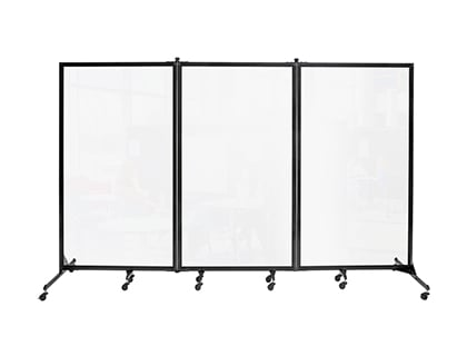 Clear Room Divider Assembly